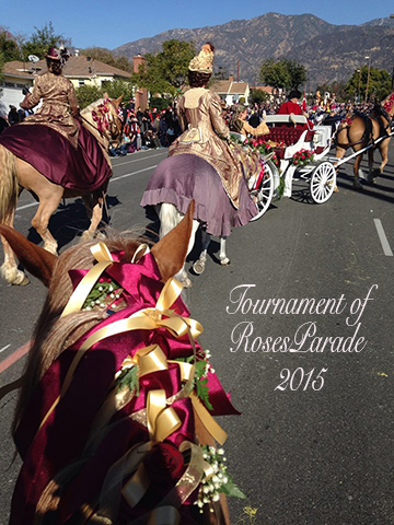 rose parade route