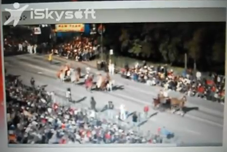 Rose Parade video from 2011