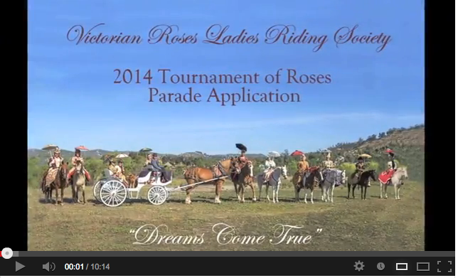 rose parade application video