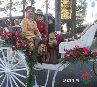 2015 rose parade carriage