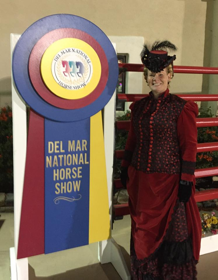 Margarita Rose at Del Mar National Horse show