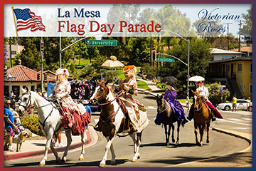 flad day parade