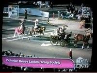 click here to see video of us in the 2010 Rose Parade
