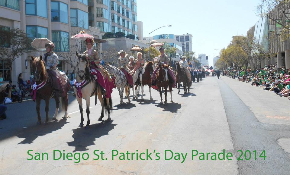 st patty's parade group